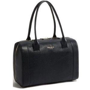 Kate Spade | Mansfield Liv Satchel Black Leather